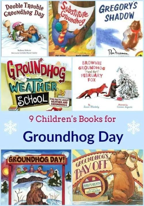 9 Children's Books for Groundhog Day