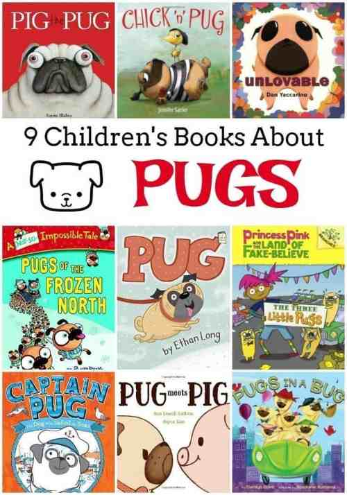 9 Children's Books About Pugs