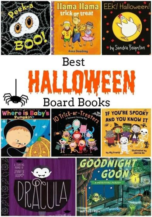11 Halloween Board Books