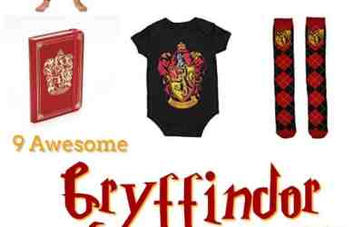 9 Gryffindor Gifts for Harry Potter Fans
