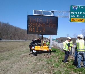 Portable message signs