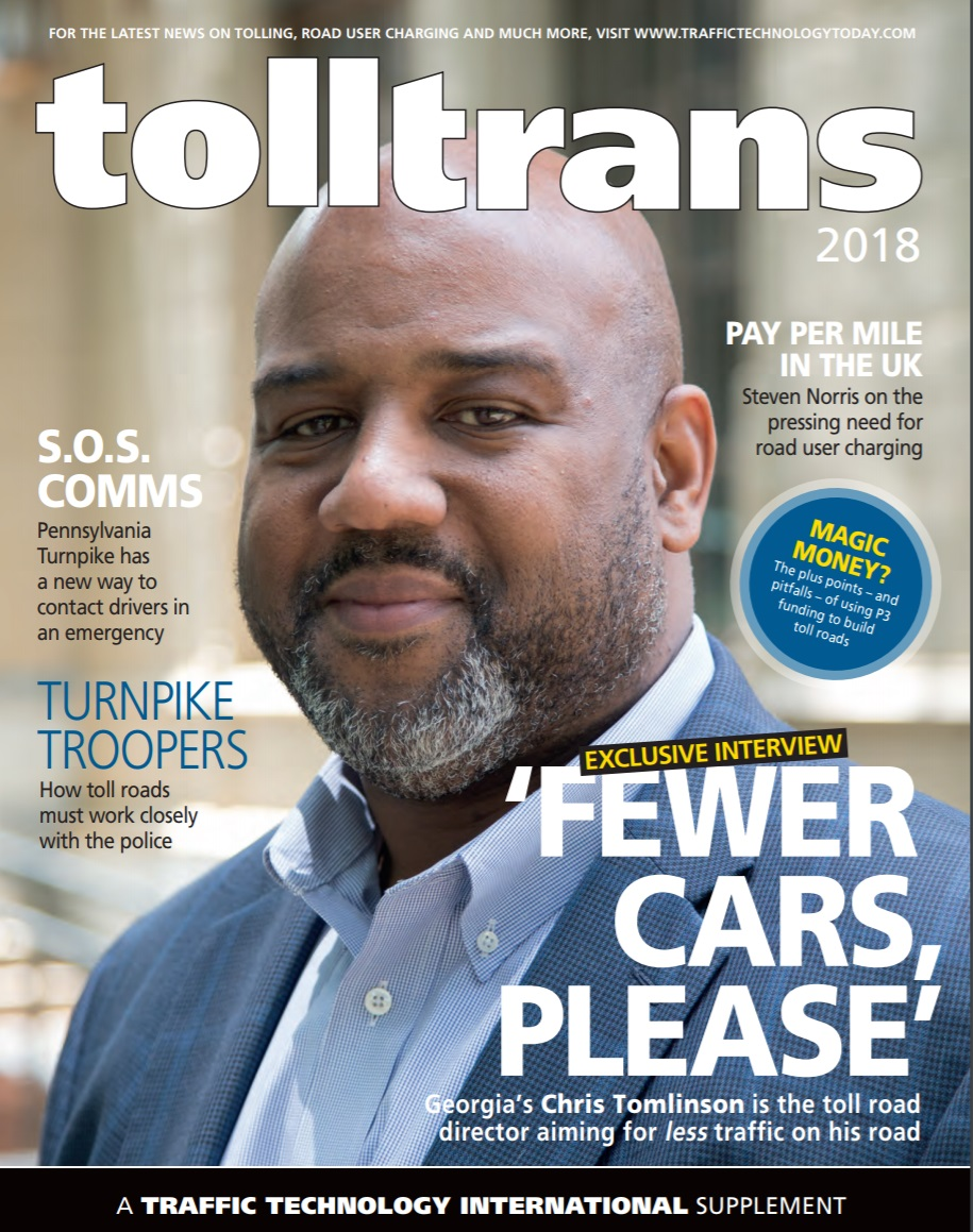 Tolltrans Magazine - Chris Tomlinson | Intelligent Transportation