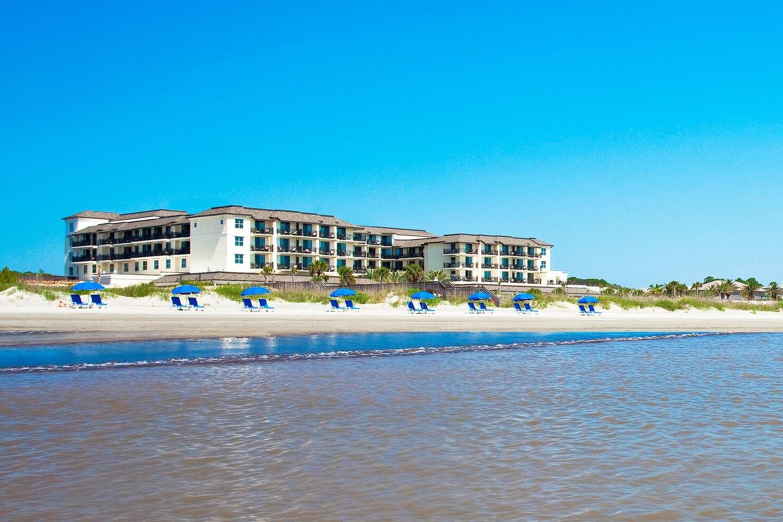 Westin Beach view