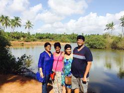 Chiara, Anne, Sheena and Ian - brains behind Goan Farmers Market