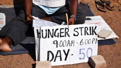 Photo of Hunger strike in Porvorim touches 50 days, no justice yet