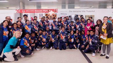 Goan atletes at Special Olympics 2017