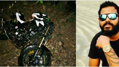 Photo of Bike accident at Neura Goa involves three?