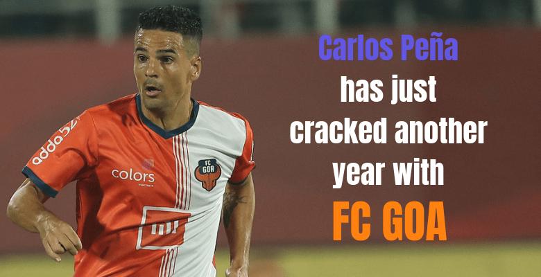 Carlos Pena FC GOA