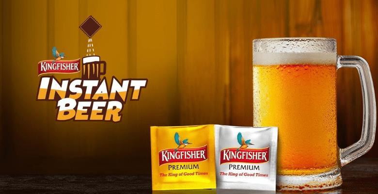 Kingfisher Instant Beer
