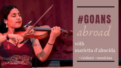 Photo of Goans Abroad – featuring Marietta D'Almeida, violinist