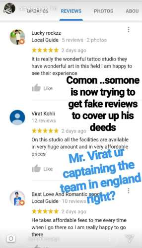 Fake review for Moksha