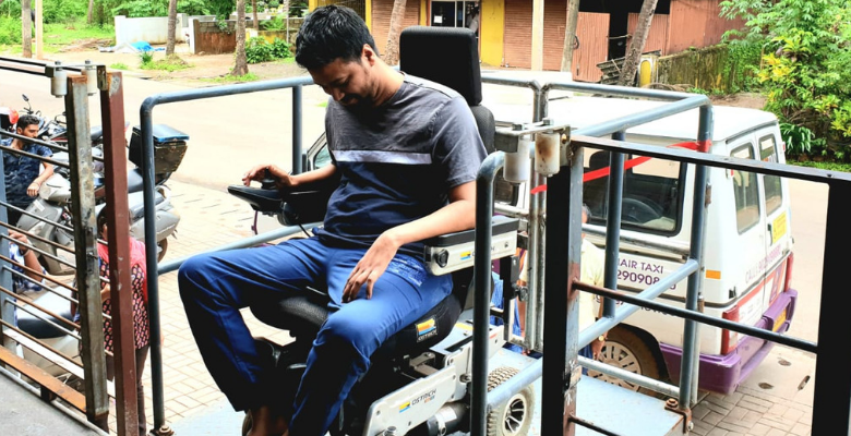 The wheelchair accessible disabled-friendly restaurant in Goa