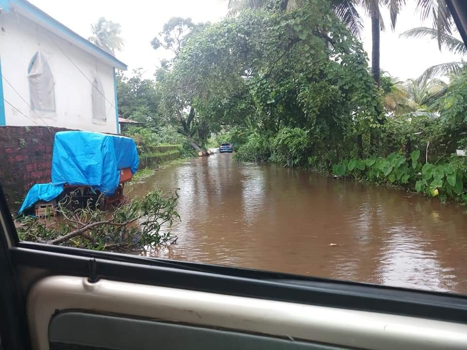 Flooding in Goa