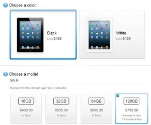 iPad White - Black