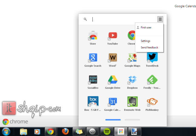 Google prezanton Chrome App Launcher1