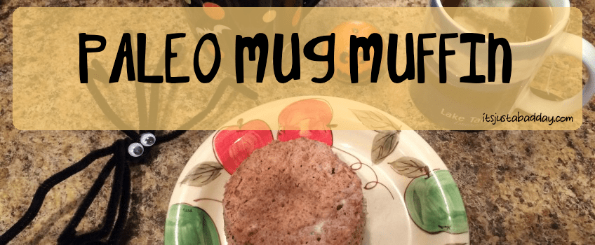 Happy Halloween – Chew On This Delicious Mug Muffin