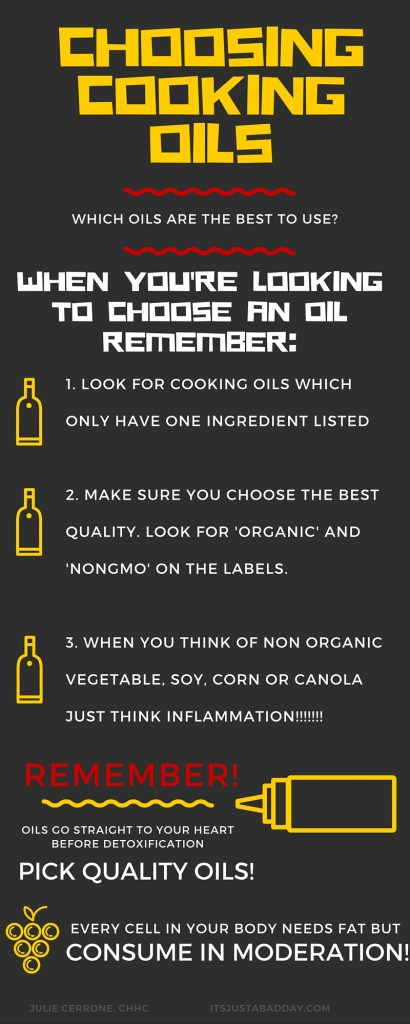 Important Things To Remember When Buying Cooking Oils   itsjustabadday.com Paleo, AIP, Spoonie, Chronic Life, Anti-inflammatory