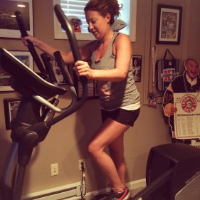 First Time On The Elliptical!