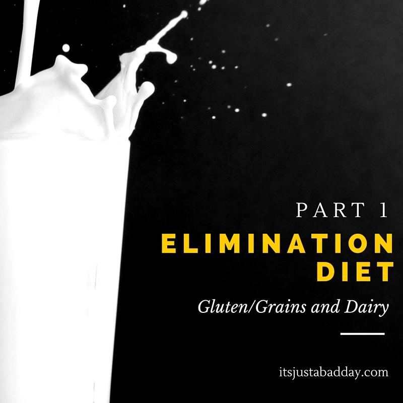 Elimination Diet Part 1 - Gluten & Dairy   itsjustabadday.com Spoonie and Autoimmune Holistic Health Coach Julie Cerrone