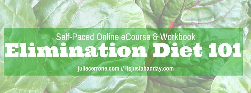 Elimination Diet 101 eCourse Launch!