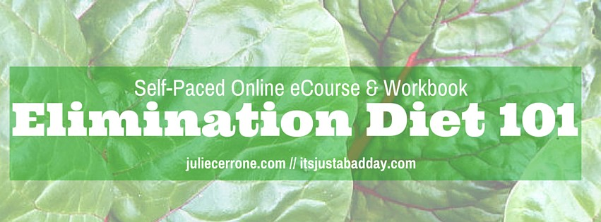 Elimination Diet 101 Self-Paced eCourse
