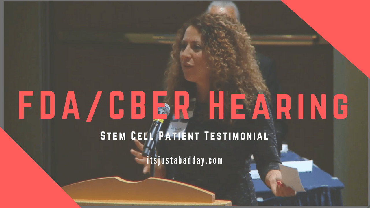 FDA Stem Cell Hearing