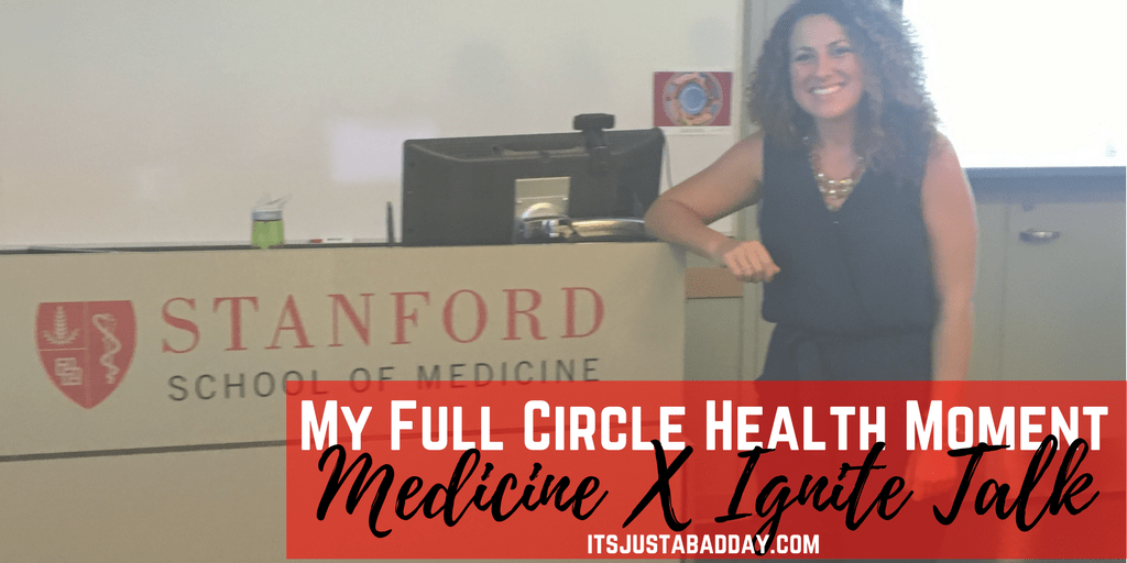 My Full Circle Health Moment (MedX Ignite Talk Replay)