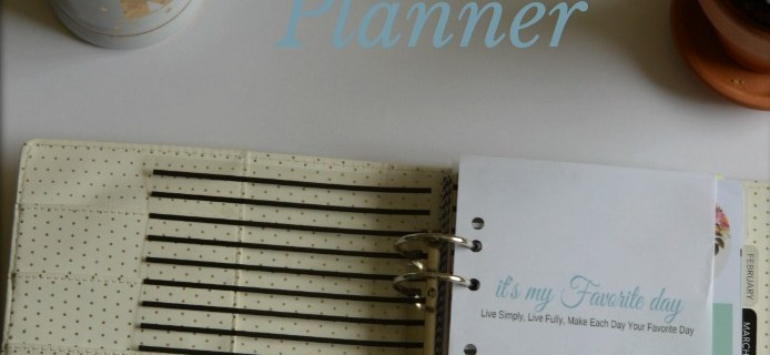 Free All In One Printable Planner