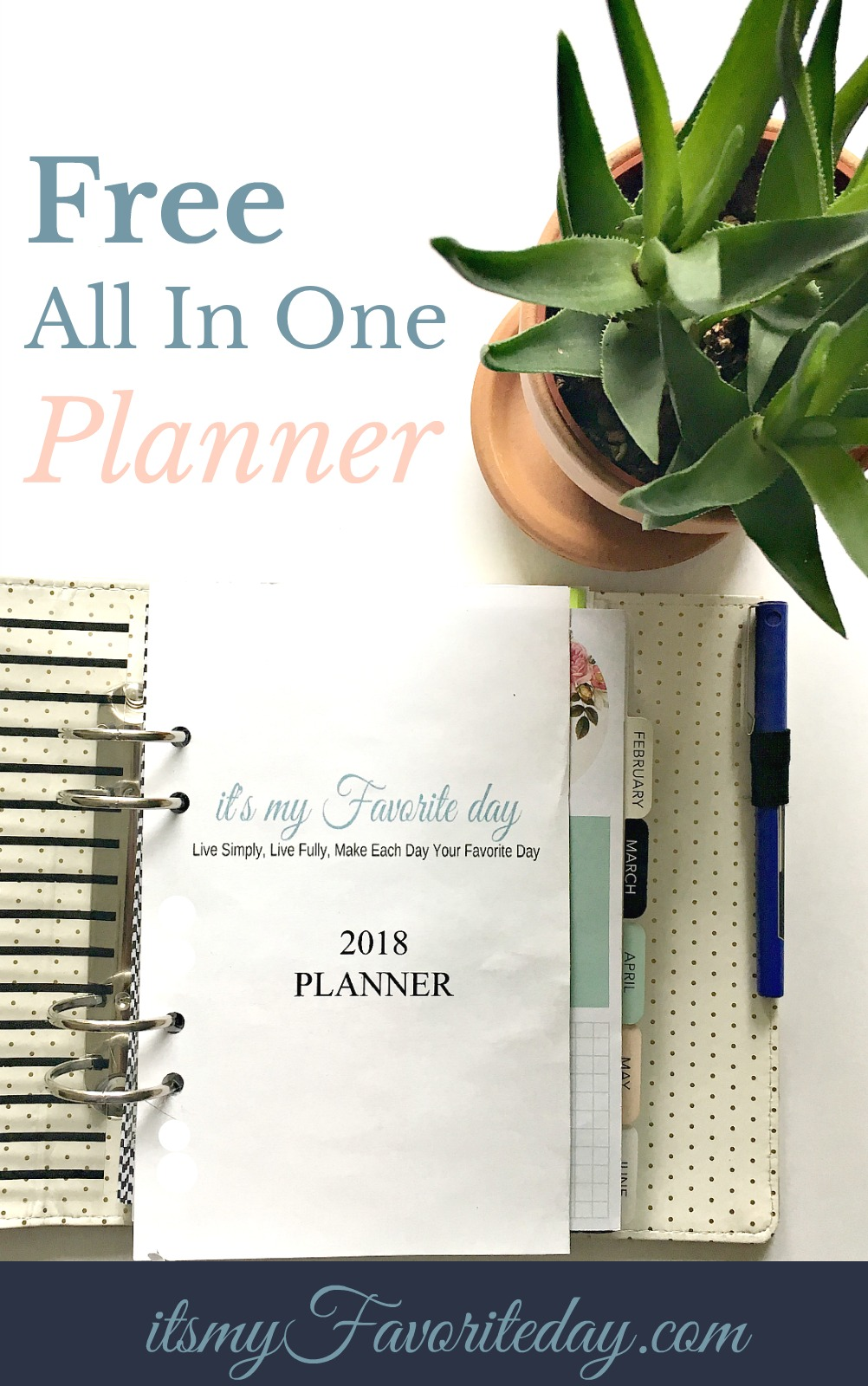Wow, this is a great planner! Love the set up, exactly what I was looking for to keep organized. If you want a FREE printable planner, then you want to click this for sure.
