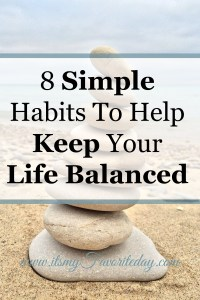 One of my favorite articles on how to keep your life balanced.  Great tips, a must read.  No time to read make sure to repin