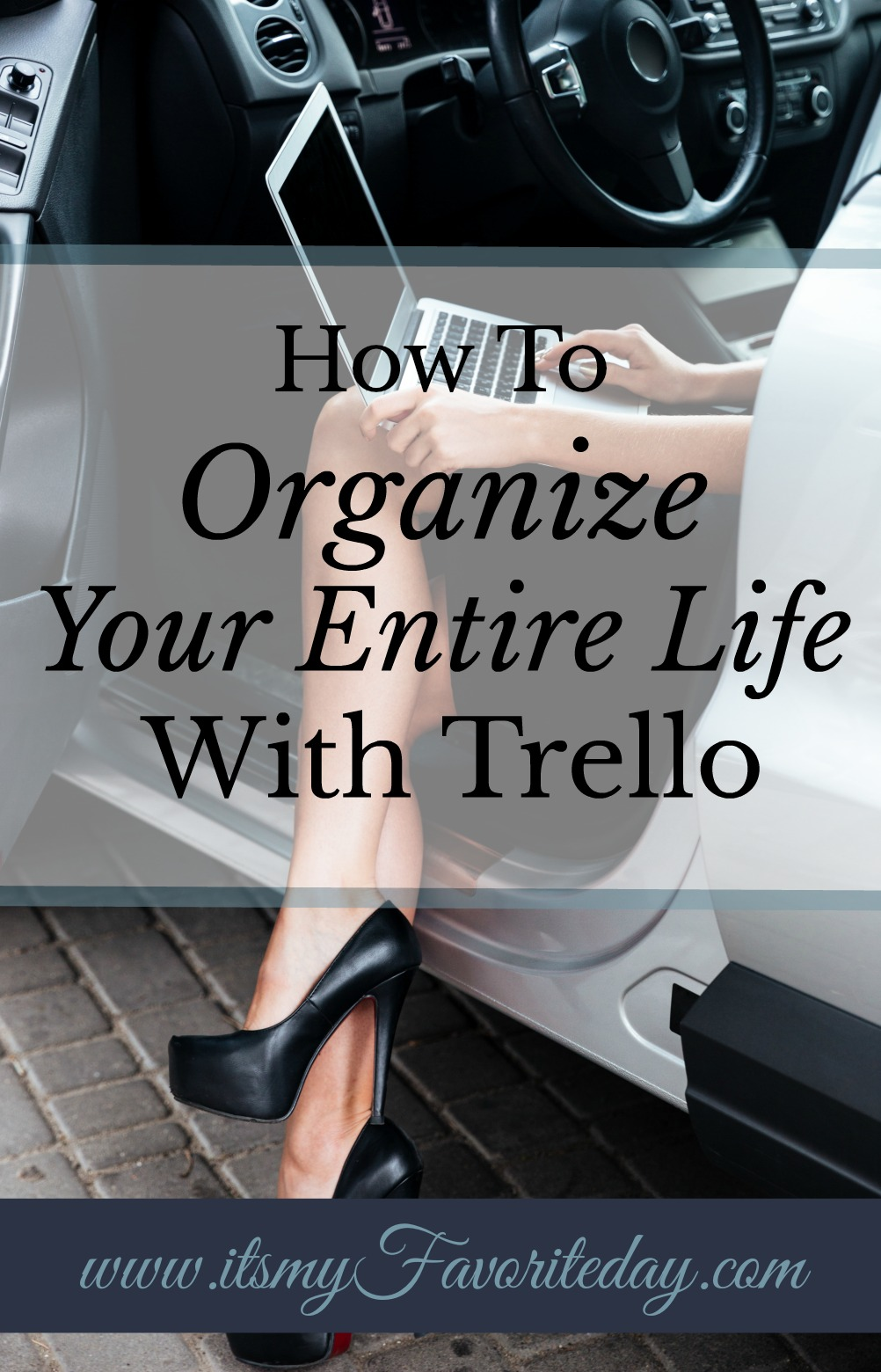If you don't know, Trello is an unbelievable FREE tool that allows you to organize and simplify your entire life. Start taking control of your time with Trello. Click here to find out how Trello works.