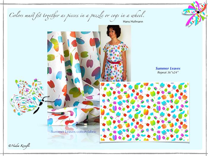 Nadia-kronfli-summer leaves-collage