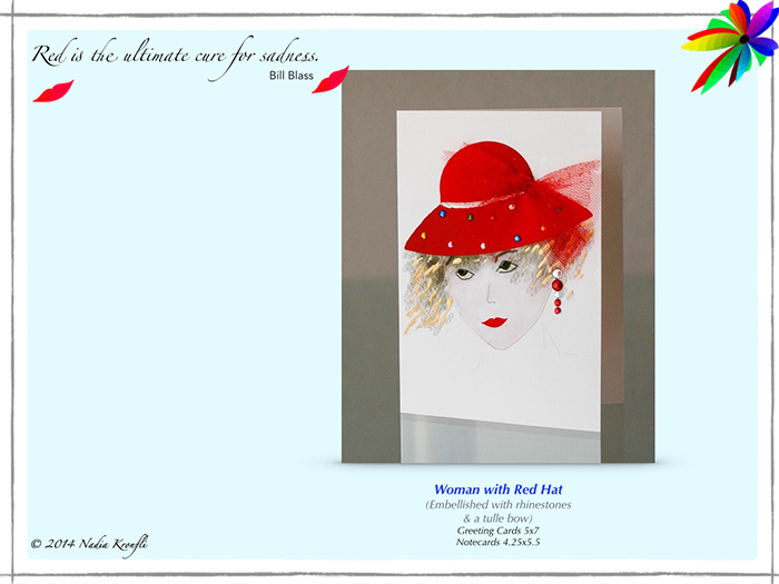 nadia-woman-red-hat-card