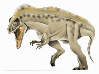 dc card acroc big Acrocanthosaurus