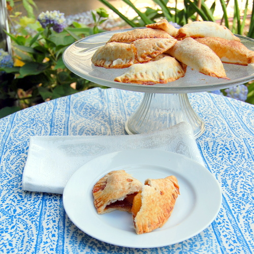 Caramel Peach Hand Pies and Lula's Pie Crust