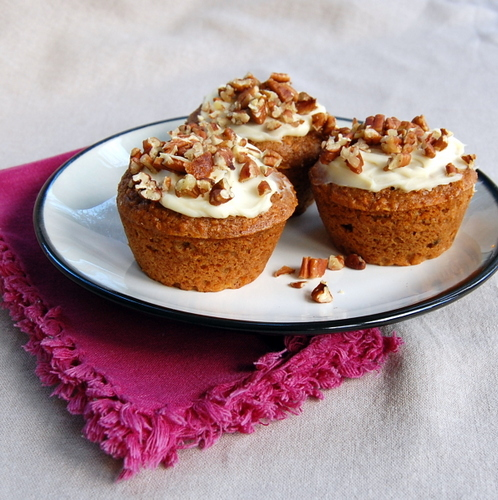 """A Cupcake By Any Other Name….Would Be a Muffin (Carrot """"Cupcake"""" Muffins)"""