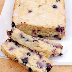 Coconut-Lime Blueberry Bread