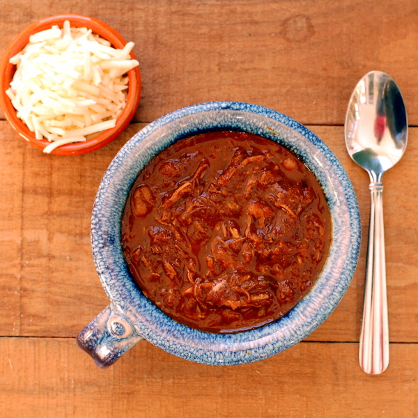 Slow-Cooker Pulled Chicken Chili