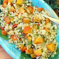 Corn and Beet Salad