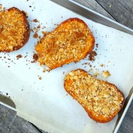 Twice-Baked Honeynut Squash with Sage and Gouda
