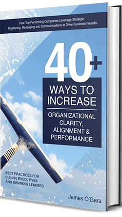 40+ WAYS TO INCREASE ORGANIZATIONAL CLARITY, ALIGNMENT AND PERFORMANCE