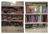 Organized Kid's Storage