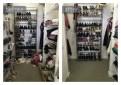 Organized Master Bedroom Closet
