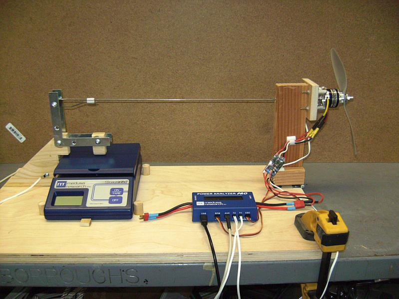 Diy Motor And Prop Test Bench Itsqv