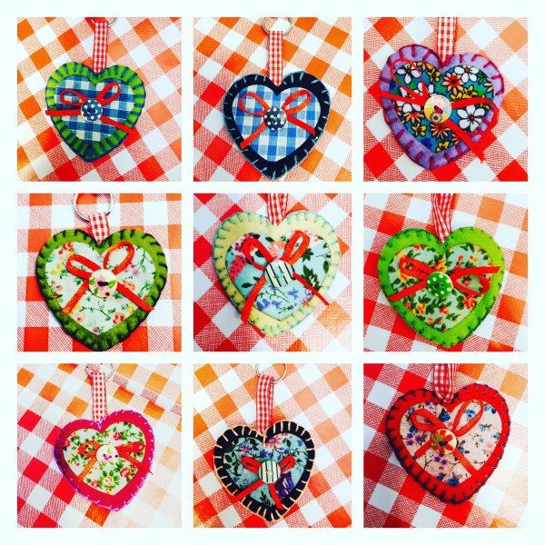 Heart keyring kit 4
