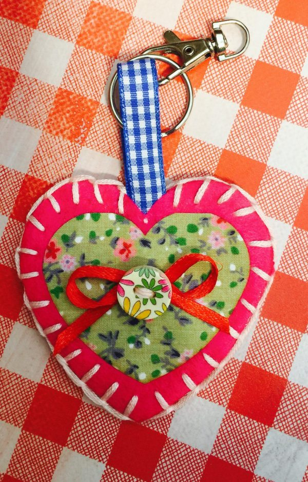Heart keyring kit5