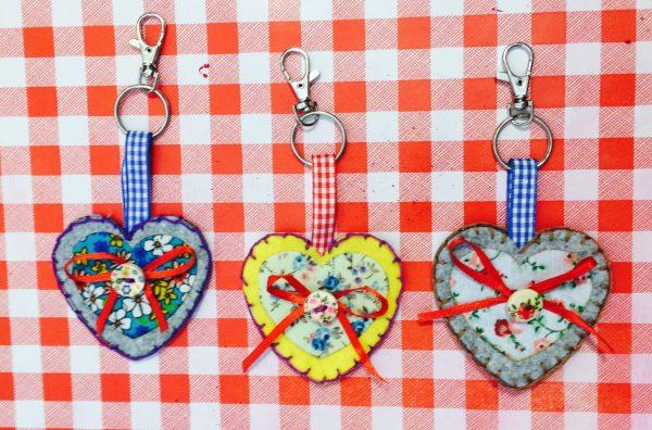 Heart keyring kit 1