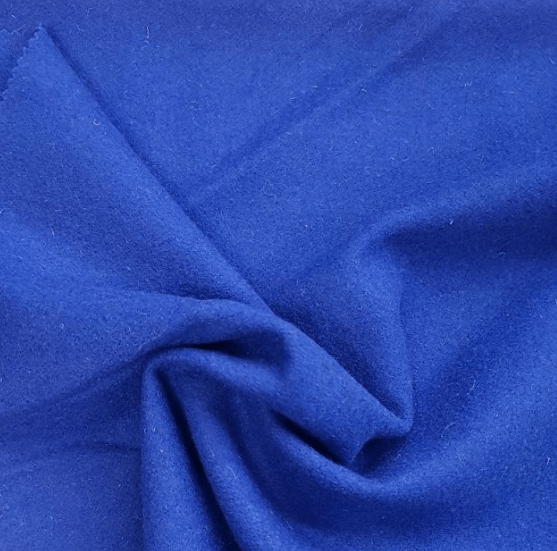 plain wool royal blue