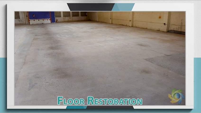 Concrete Floor Restoration Warehouse