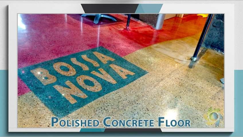 Polished Concrete Floor Restaurant